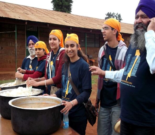 Team Serving Langar