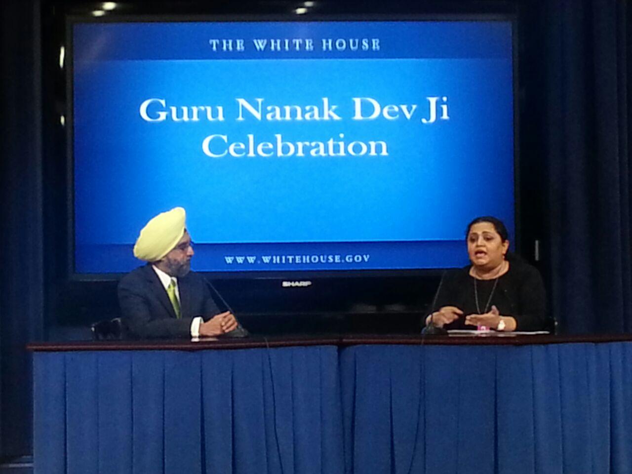 White house guru nanak dev ji pictures