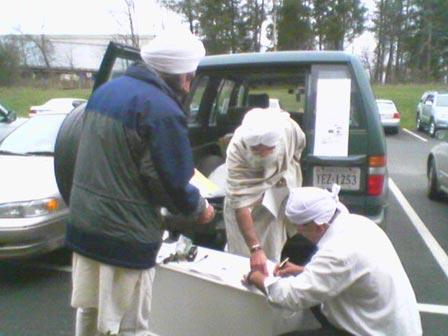 Photograph 1. Washington Volunteers in Action
